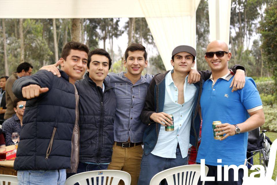 Nicolás Gomez de la Torre, Matías Zapler, Marcelo Porras, Javier Corrochano y Mauricio Salem.