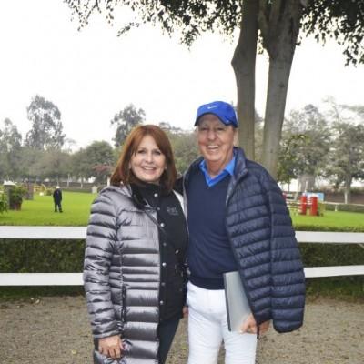Nora Dyer y Jaime Graña.