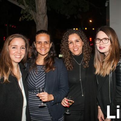 Pamela Ceballos, Claudia Muleta, Ximena Ceballos y Ali Font