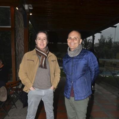 Paul Rizo Patrón y Jorge Luis Archimbaud.