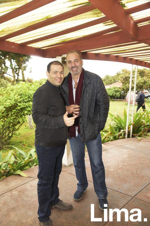 Raúl Saba y Jacobo Said.