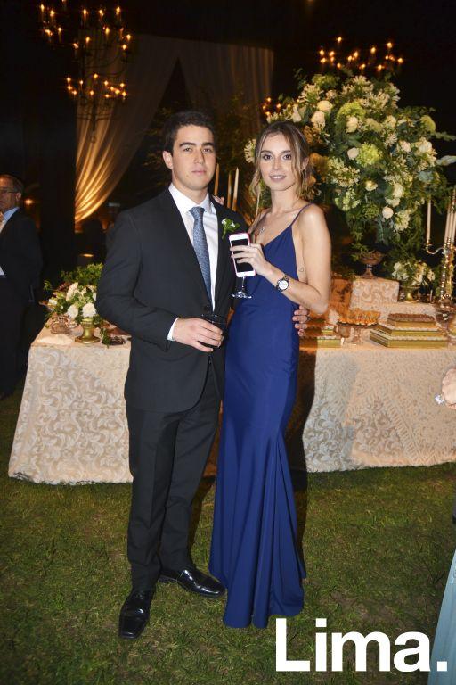 Santiago Navarro y Maria José Camino.
