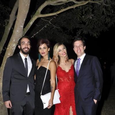 Sebastián Arrese, Adriana Seminario, Diana Ibarra y Jaime Sotomayor.