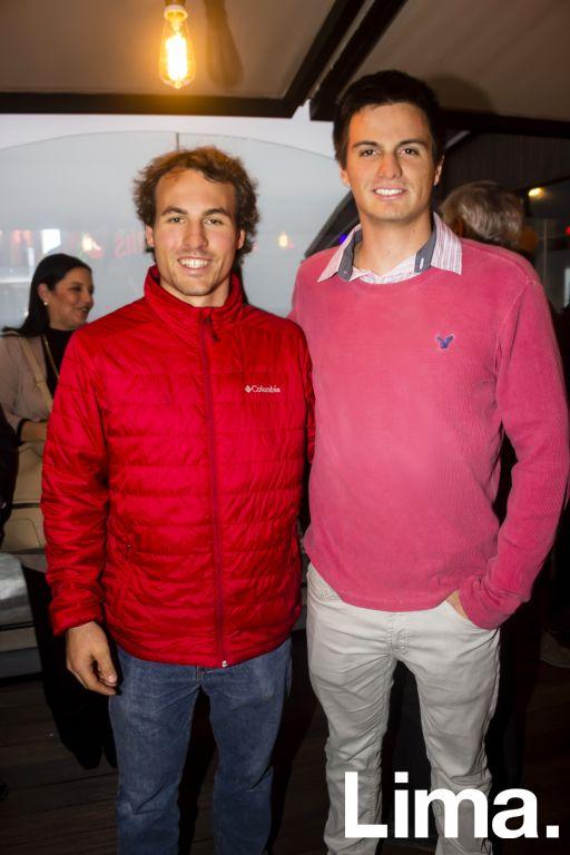 Sergio Silva y Javier Arribas.