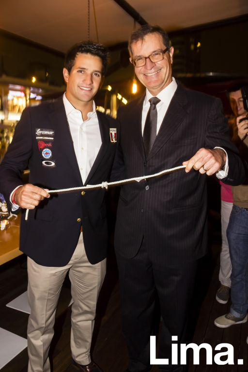 Stefano Peschiera y Alex Zimmerman.