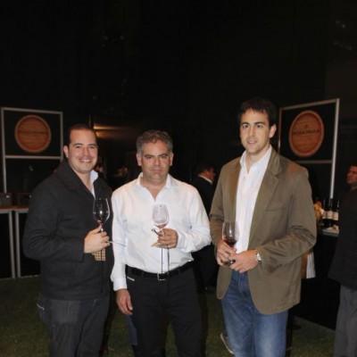 Aldo Zamudio, Ricardo Carretero y Nicolás Vilcinskas.