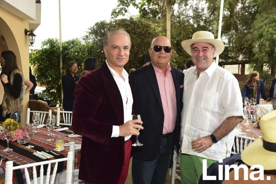 Antoninno Danna, Erlon Arfelli y Guillermo Winter.