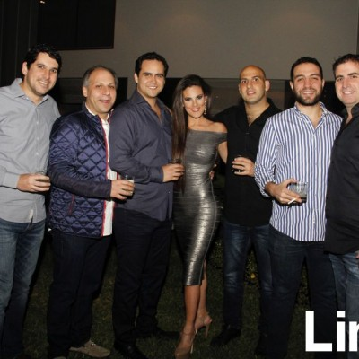 Antonio Abusada, Atala Mitri, Fernando garay, Nicole Simon, David Odeh, Francisco Abusada y Riad Mattar.