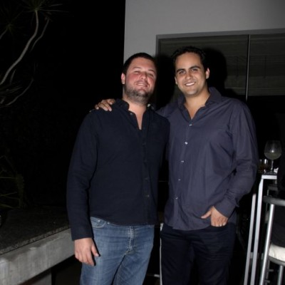 Augusto Escribens y Fernando Garay.
