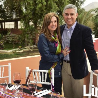 Beatriz Pardo y Pepe Elice.