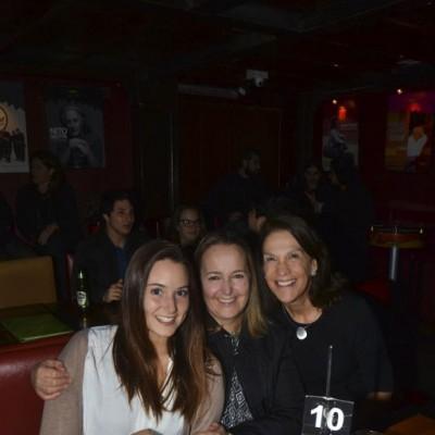 Camila Bertini , Maya Saenz y Verónica Urbina.