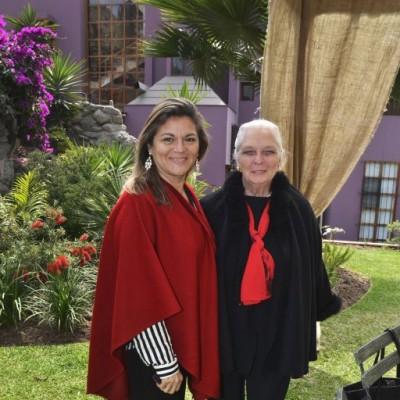Carol Bowdin y Lucía Barrera de Magot.