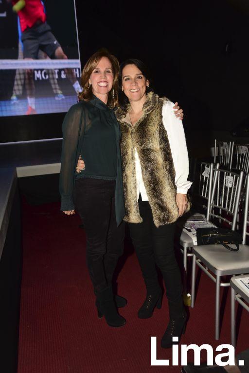 Cecilia Berastain y M¢nica Aguilar.