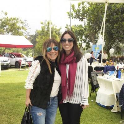 Claudia Velando y Alejandra Pedse.