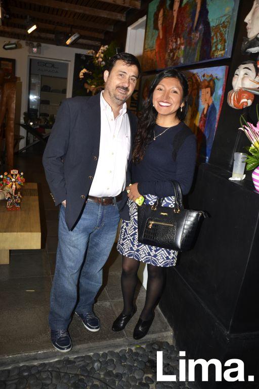 Claudio Boscato y Paola Pacheco.