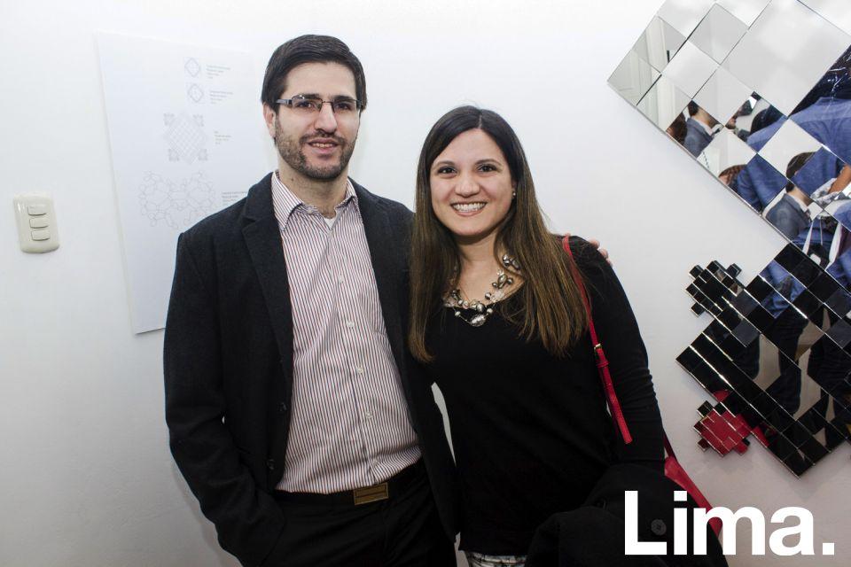 Diego Pérez y Andrea Baca.