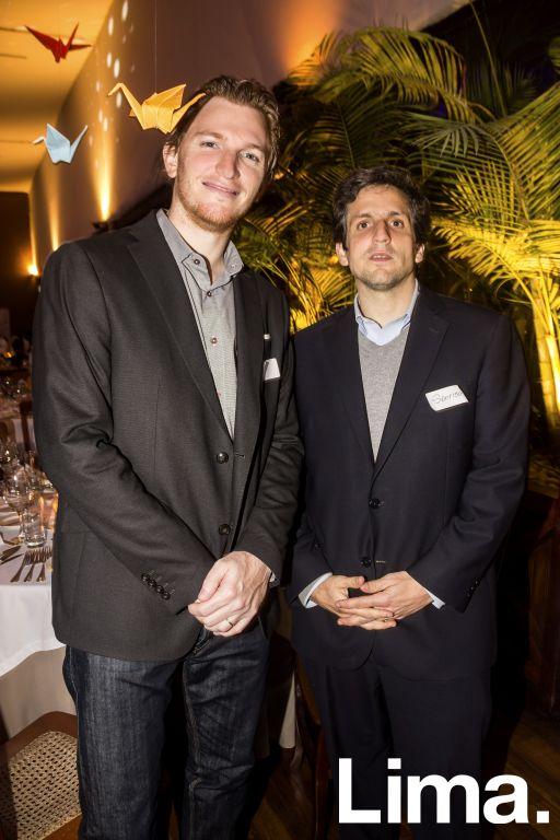 Diego Wallentin y Fernando Descotte.