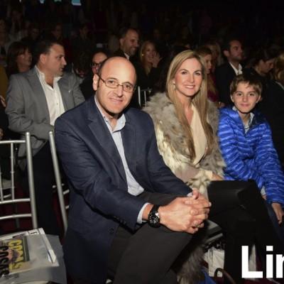 Dionisio Romero,  Joelyn Pestana y Vicente Romero.