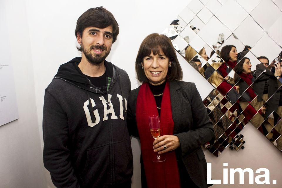 Ernesto Elmore, hijo, y Ana Teresa de Elmore.