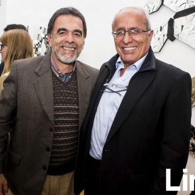 Ernesto Eelmore y  Rafael Zoeger