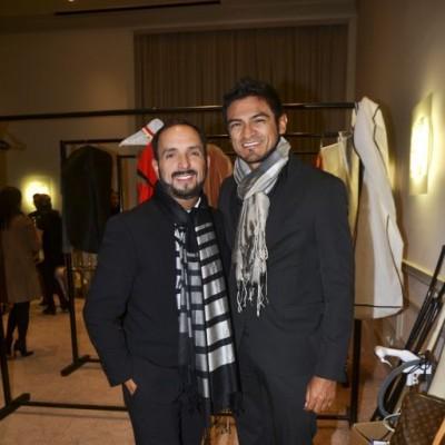 Efraín Salas y Lud Vargas.