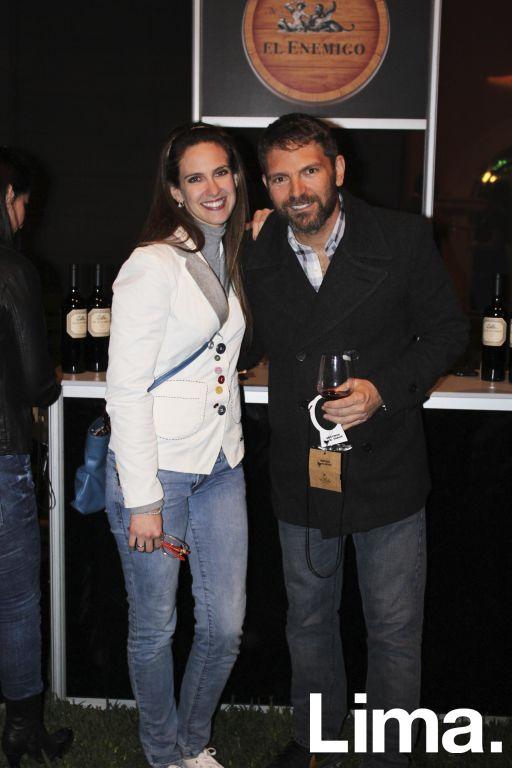 Emilia Drago y Diego Lombardi.