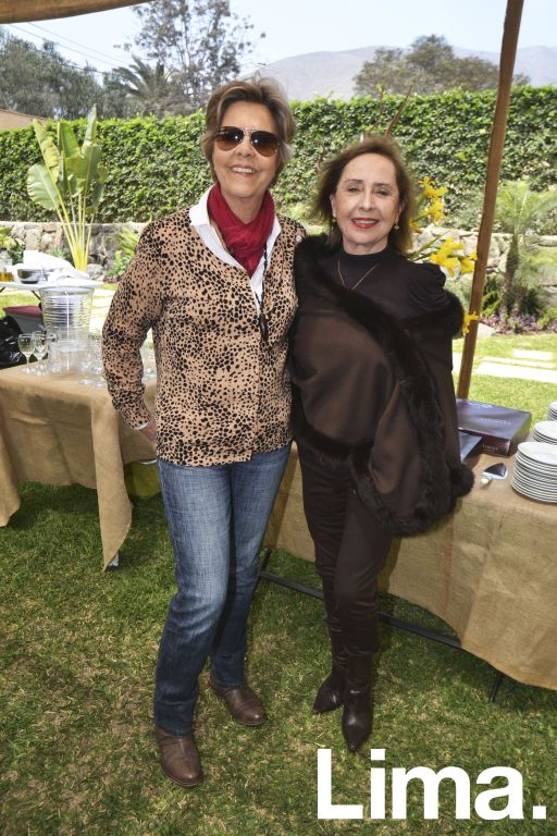 Eveline Bote y Ruth Pastor.