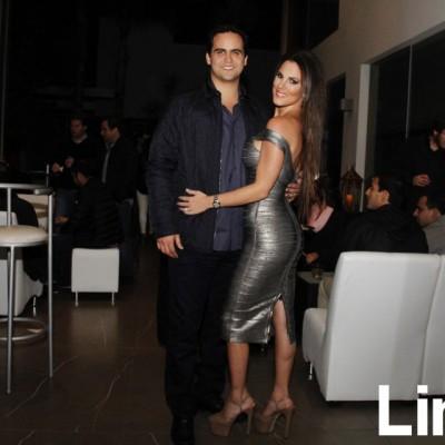 Fernando Garay y Nicole Simon.