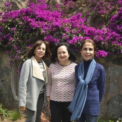 Gabriela de Arbulú, Marcela de Manzur e Iris Amiel.