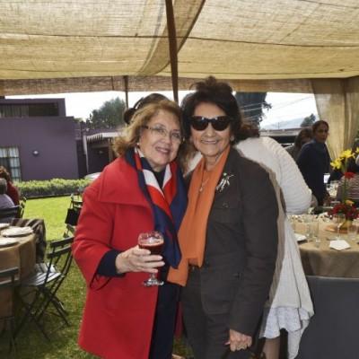 Ida Orrego y Lupe Mohanna.
