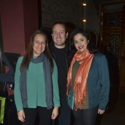 Imeka Herrera, Lucho Herrera y Jayanti Bachani.