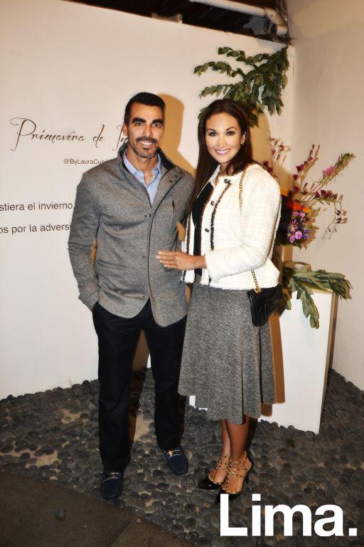 Jaime León y Giovanna Vargas.