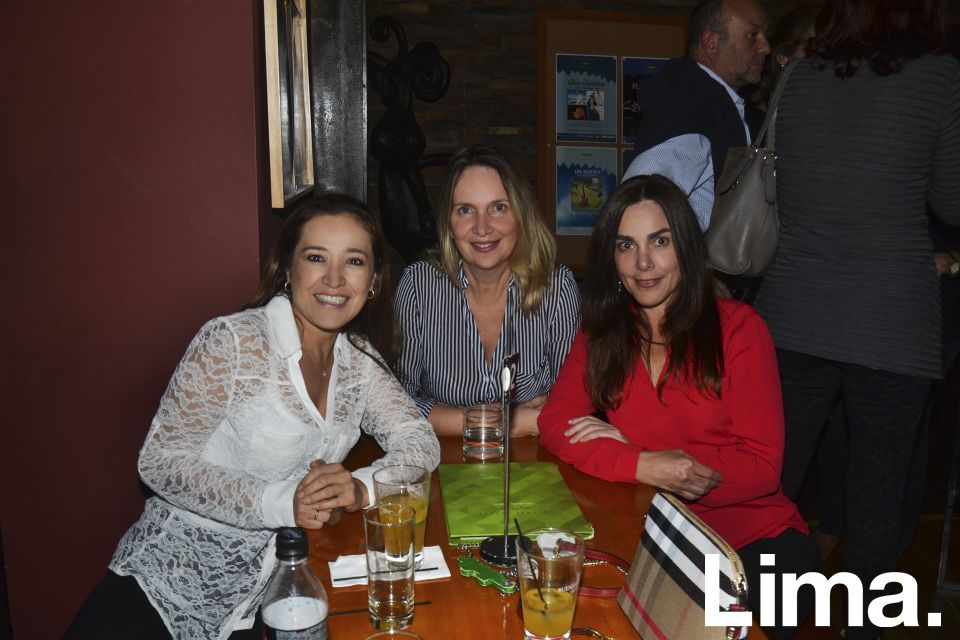Jessica Barthelmes, Patricia Rosas y Claudia Peschiera.