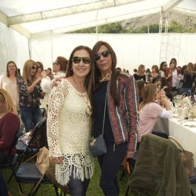 Jessica Barthelmess  y Cristina Majluf.