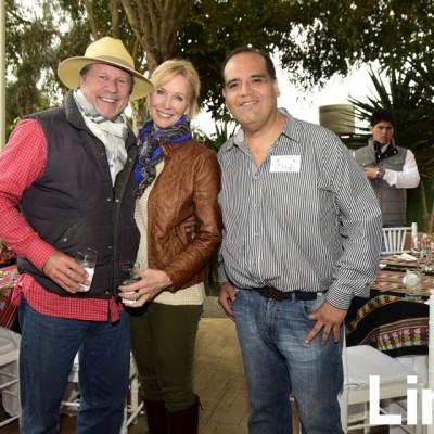 Jorge Koechlin, Jeryline Koechlin y Salomon Villafuerte.