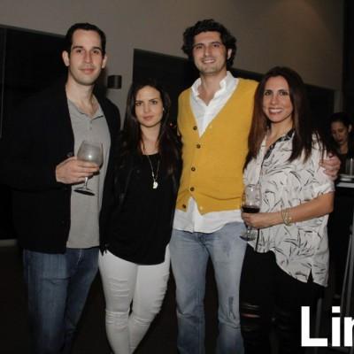 Jose Carreño, Talía Álvarez, Luis Alfaro y Katerina Farah.