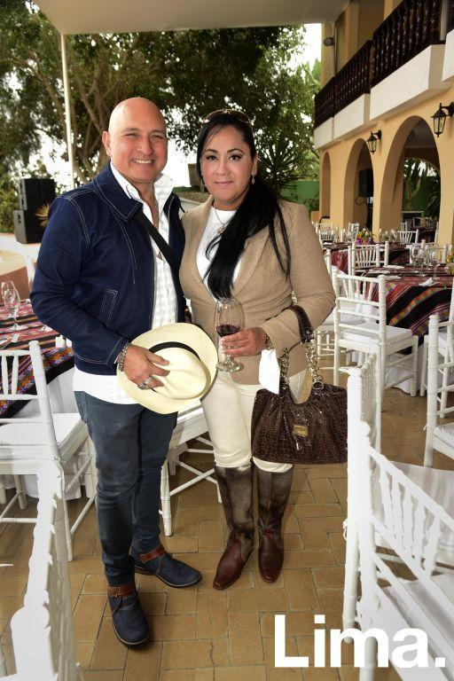 Jose Miguel Valdivia y Juana Herrera.