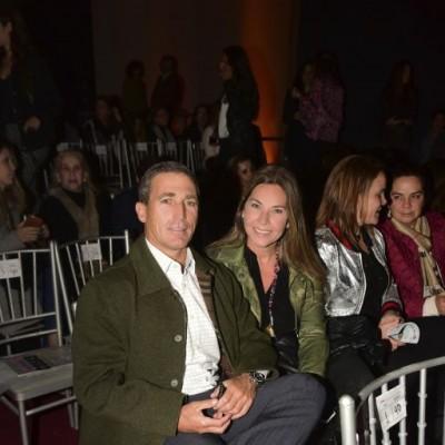 Juan Miguel Raffo y Cecilia Telge.