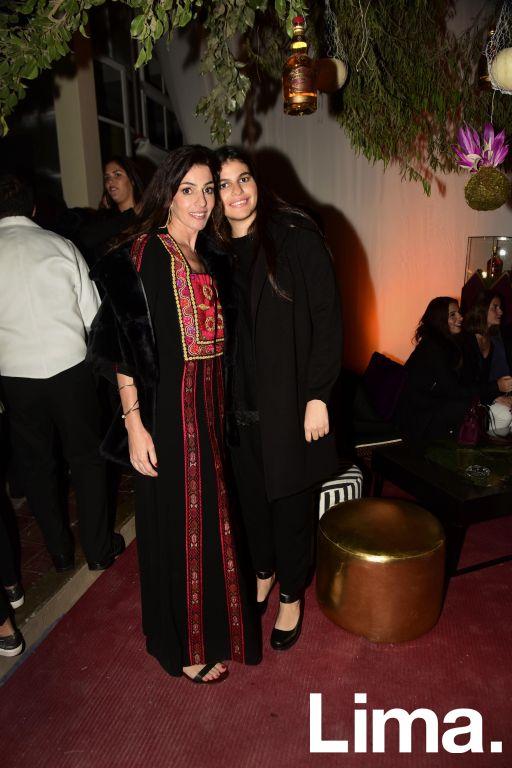 Karen Mitre y Noor Abusada.