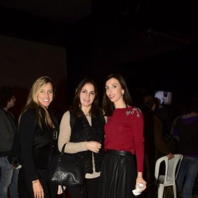 Karin Strohmeier, Giselle Zaidan y Carol Zaidan.