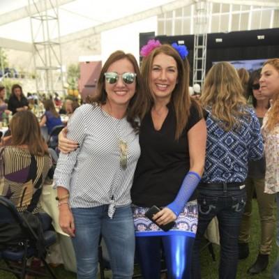 Karina Simon y Paty Flores.