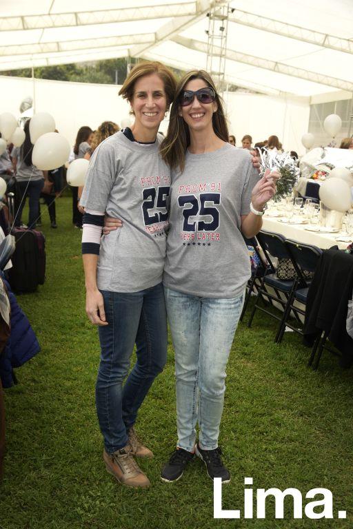 Karla Molinnelli  y Michelle Gaillard.