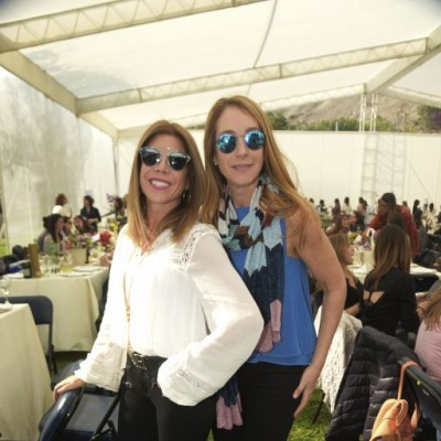 Katia Silva y Claudia Dall'Orto.