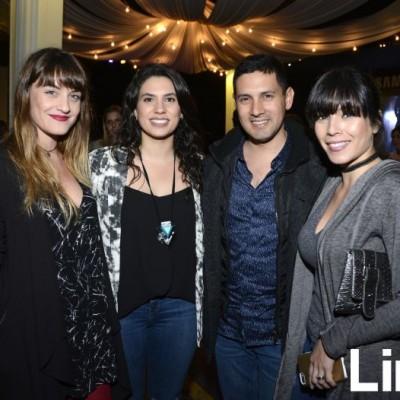 Stefania Noriega, Camila Tejeda, Juan Carlos Noriega y Carla Plaza.