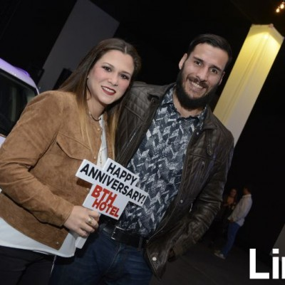 Giannina Gilardi y  Mario Figueroa.