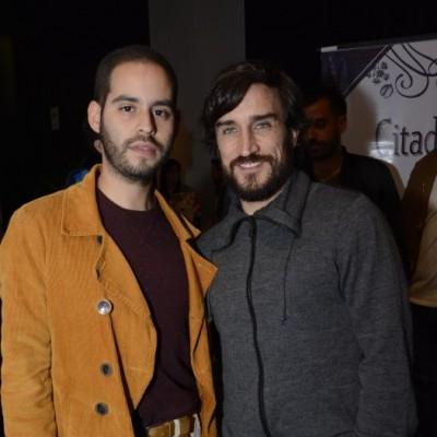 Javi Tolmos y Luis Miguel Pavón.