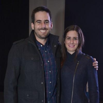 Felipe Berckemeyer y Francesca Giannoni