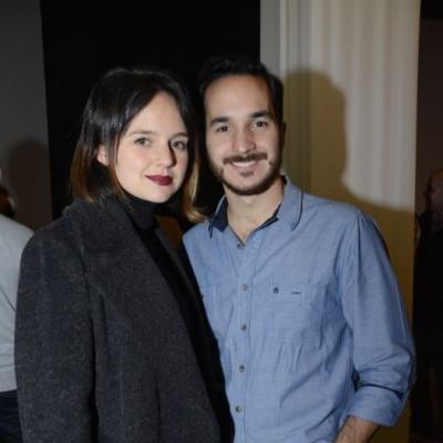 Dannia Palacín y Franco Guiulfo.