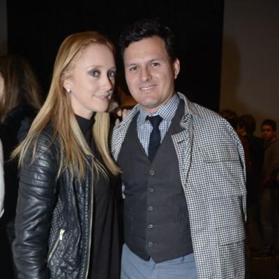 Sara Sztrancman y Sergio Dávila.