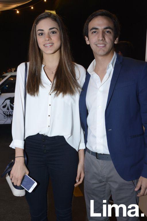 María Grazia Crosato y David Menacho.